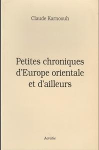 chronique orientale couv